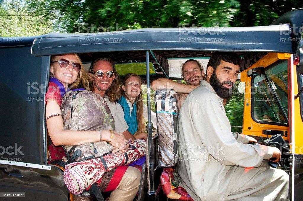 Automatische rikshaw – Foto
