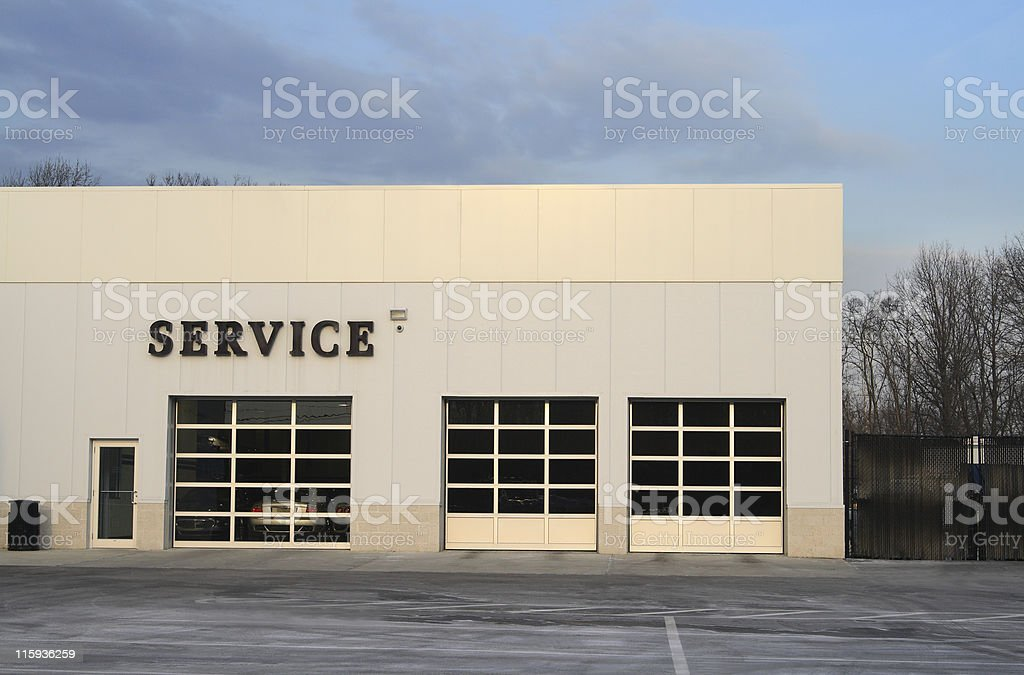 Auto Service royalty-free stock photo