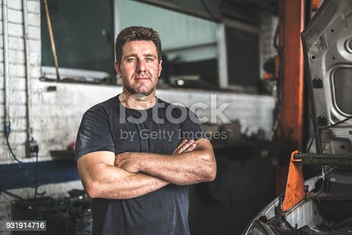 istock Auto Service Worker/Owner 931914716