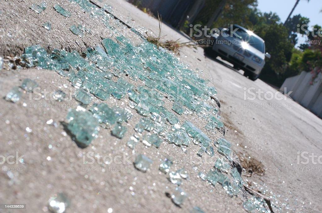 auto theft stock photo