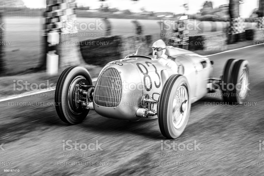 Auto Union Grand Prix Rennwagen Type C V16​​​ foto