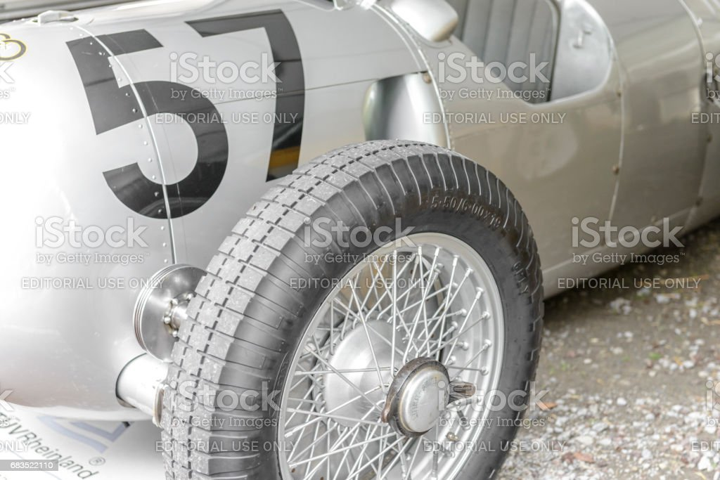 Auto Union Type C Rennwagen 1936 race car stock photo