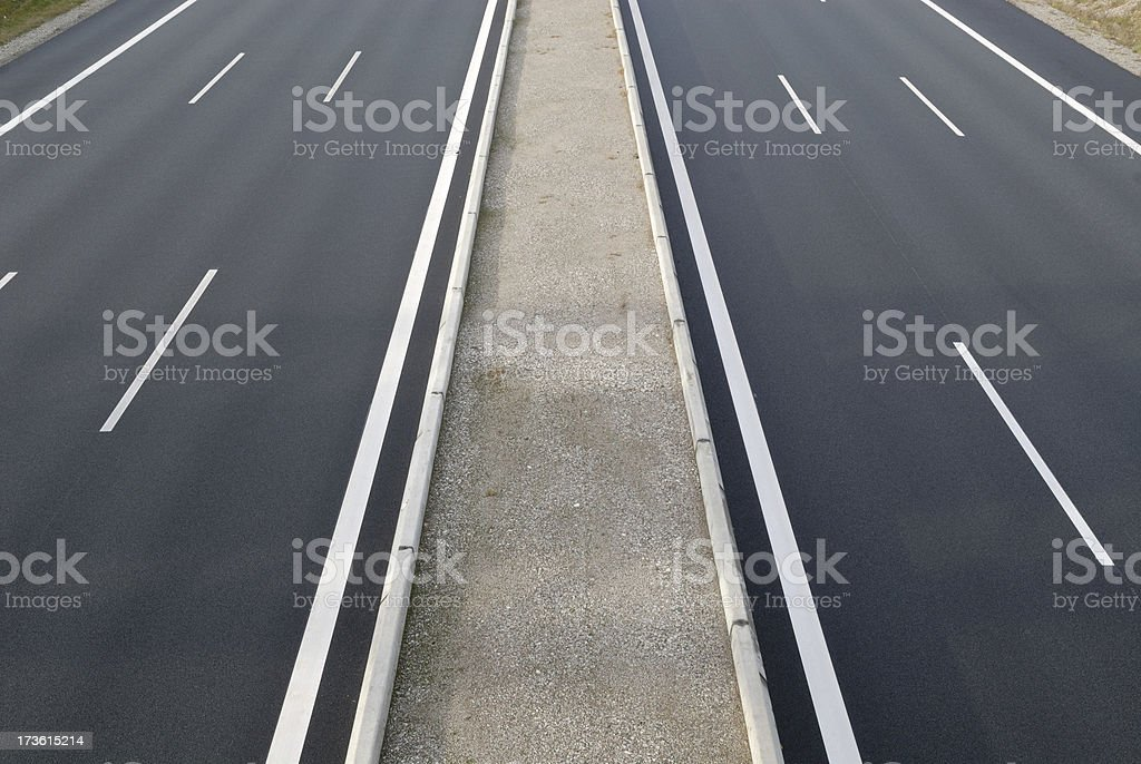 Autobahn highway royalty-free stock photo