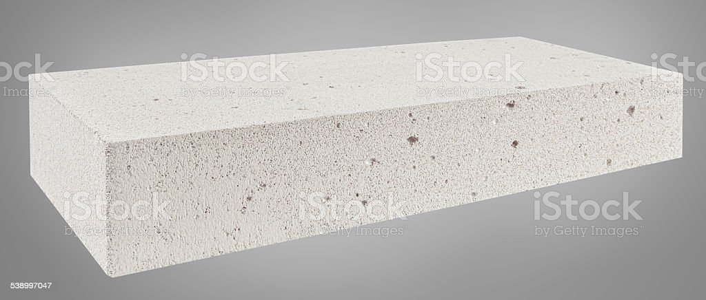 Autoclaved Aerated Concrete Block Stock Photo - Download