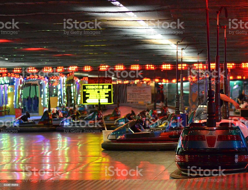 Autodrom im Wiener Prater stock photo