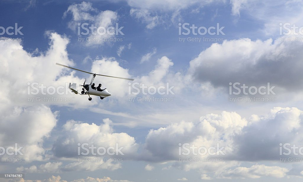 Autogiro stock photo