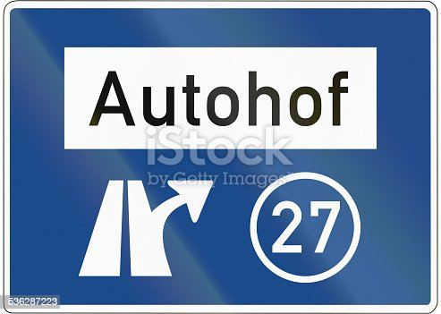 521911567 istock photo Autohof Ausfahrt 27 536287223