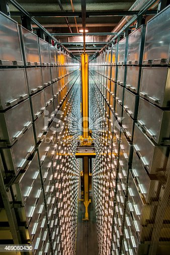 istock Automated Book Storage and Retrieval System 469060430