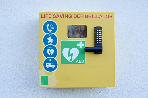 Automated external defibrillator foto