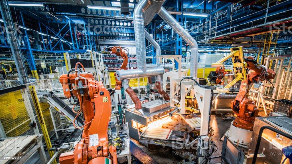 Automatisierte Fabrik – Foto