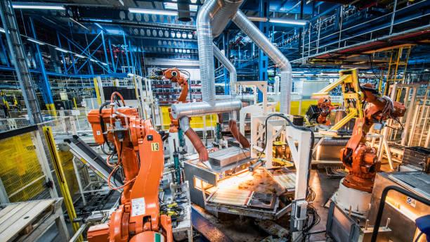 自動化工廠 - 電子摩打 個照片及圖片檔