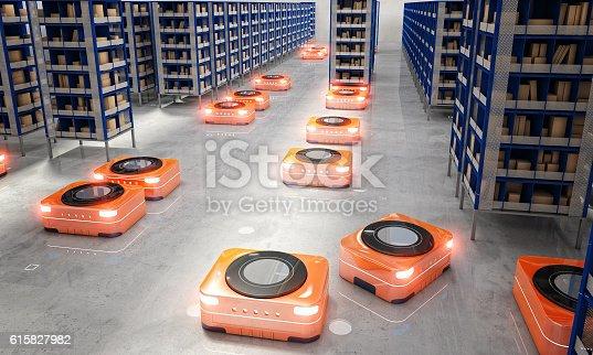 istock automated modern warehouse 615827982