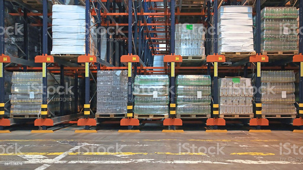 Automated Storage stock photo