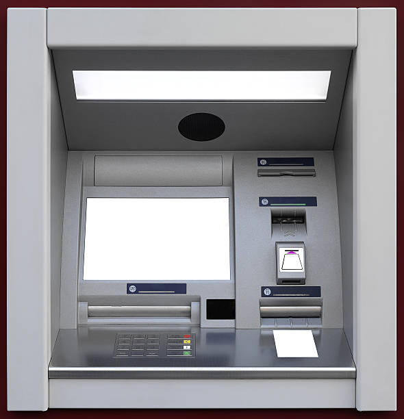ATM, Automated Teller Machine stock photo