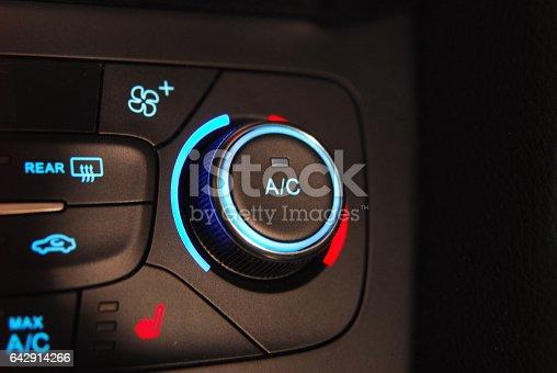 istock automatic Car Air Conditioner 642914266