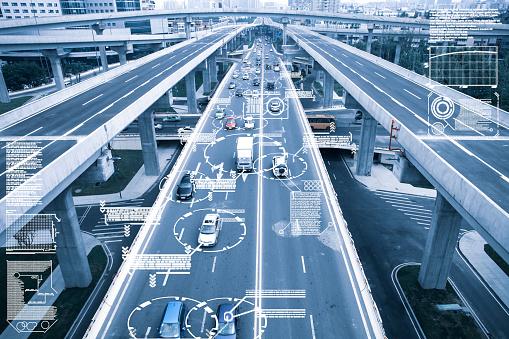 smart transportation stock photos