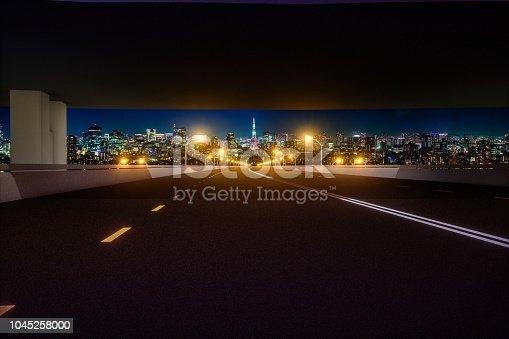 1008204650 istock photo Automatic car city new viaduct tokyo night 1045258000