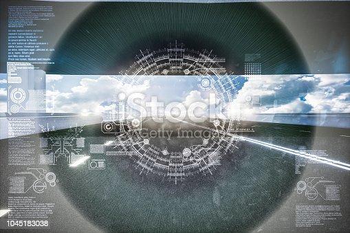 1008204650 istock photo Automatic car city new viaduct tokyo 1045183038