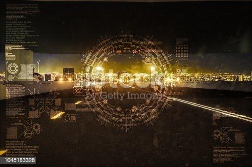 1008204650 istock photo Automatic car city new viaduct tokyo 1045183328