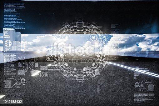 1008204650 istock photo Automatic car city new viaduct tokyo 1045183432