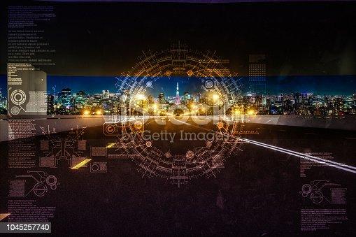 1008204650 istock photo Automatic car city new viaduct tokyo 1045257740
