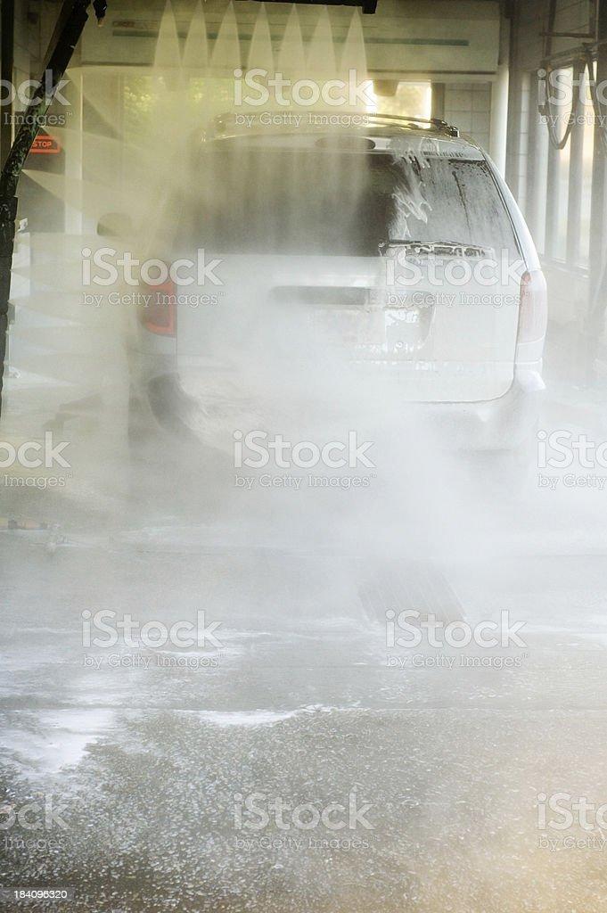 Automatic Car Wash royalty-free stock photo
