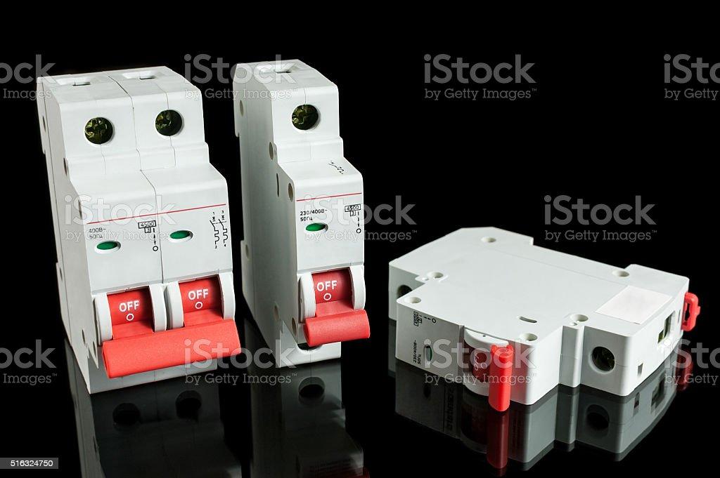 Automatische circuit breaker – Foto