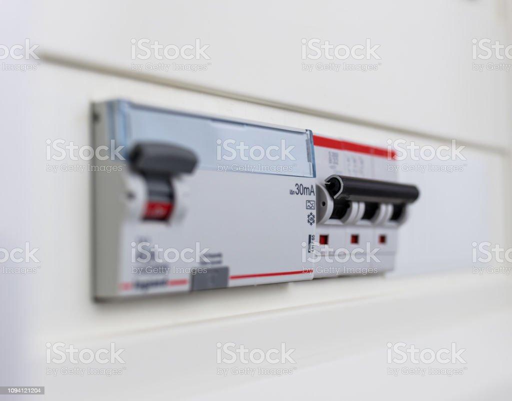 Fuse Box Main Power Switch