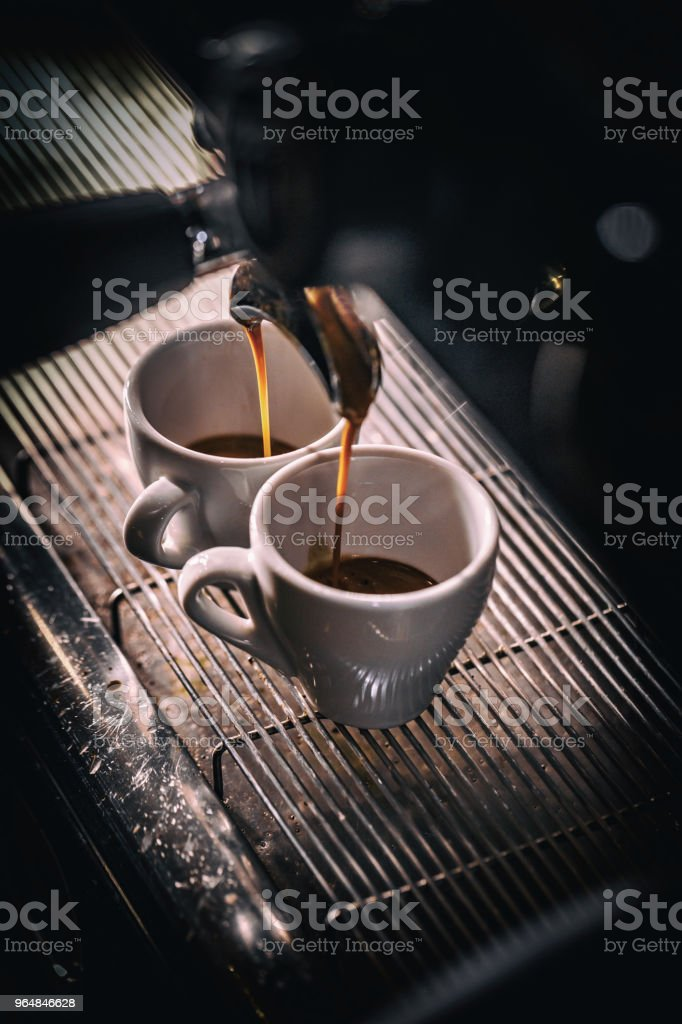Automatic coffee maker royalty-free stock photo