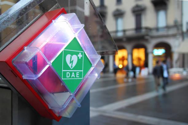 AED. Automatische defibrillator. foto