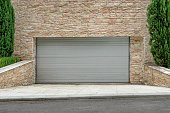 Automatic Electric Roll-up Commercial Garage Gate Or Push-up Doo