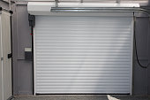 Automatic Electric Roll-up Commercial Garage Gate Push up Door In Modern Building house