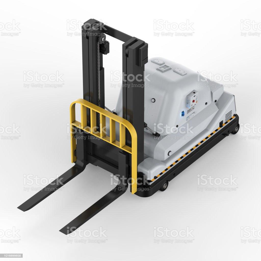 자동 포크 리프트 트럭 스톡 사진
