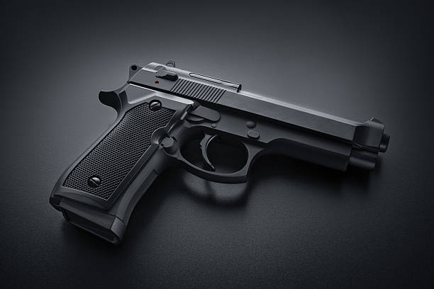 Automatic Gun Automatic Gun pistol stock pictures, royalty-free photos & images