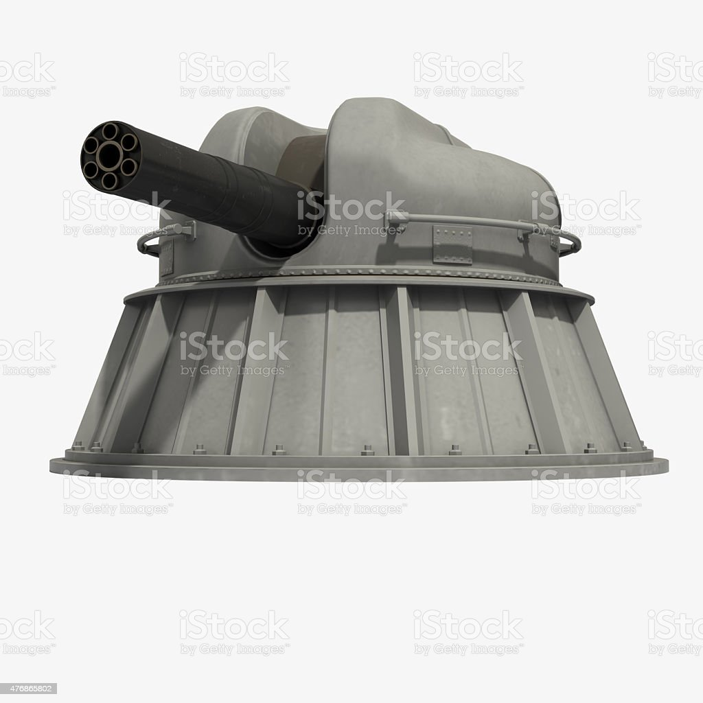 Automatic Naval Close-in Weapon System stock photo