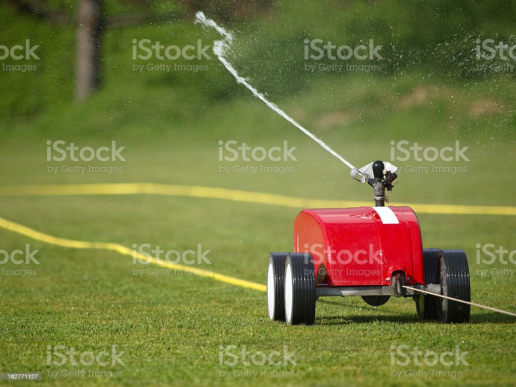 Automatic pouring royalty-free stock photo
