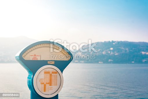 istock Automatic precision weight scale 695958444