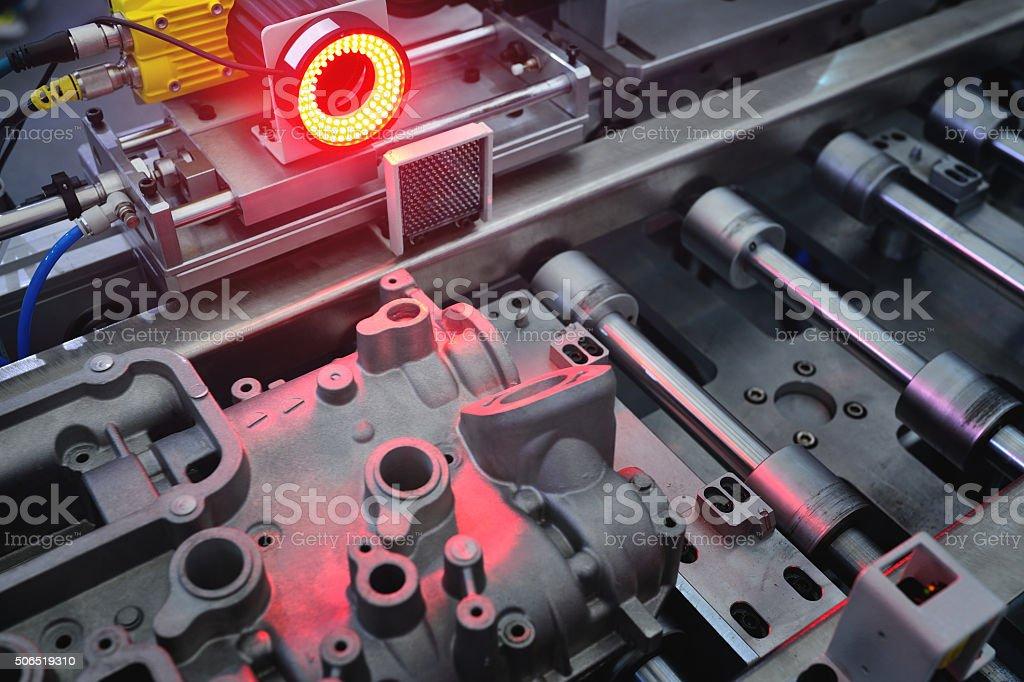 Automatic Sensor Scanning stock photo