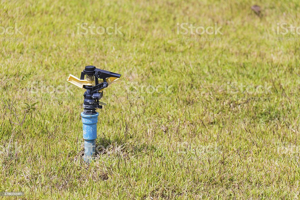 Automatic sprinkler head stock photo