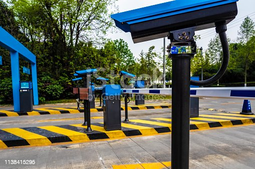 Automatic traffic camera for parking in china