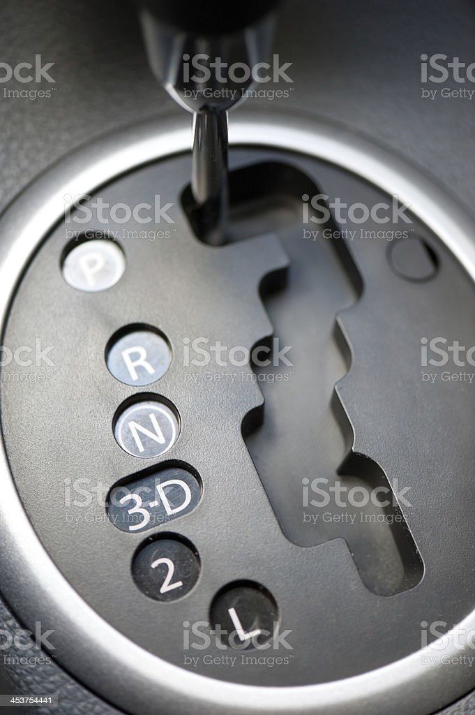 automatic transmission car royalty-free stock photo