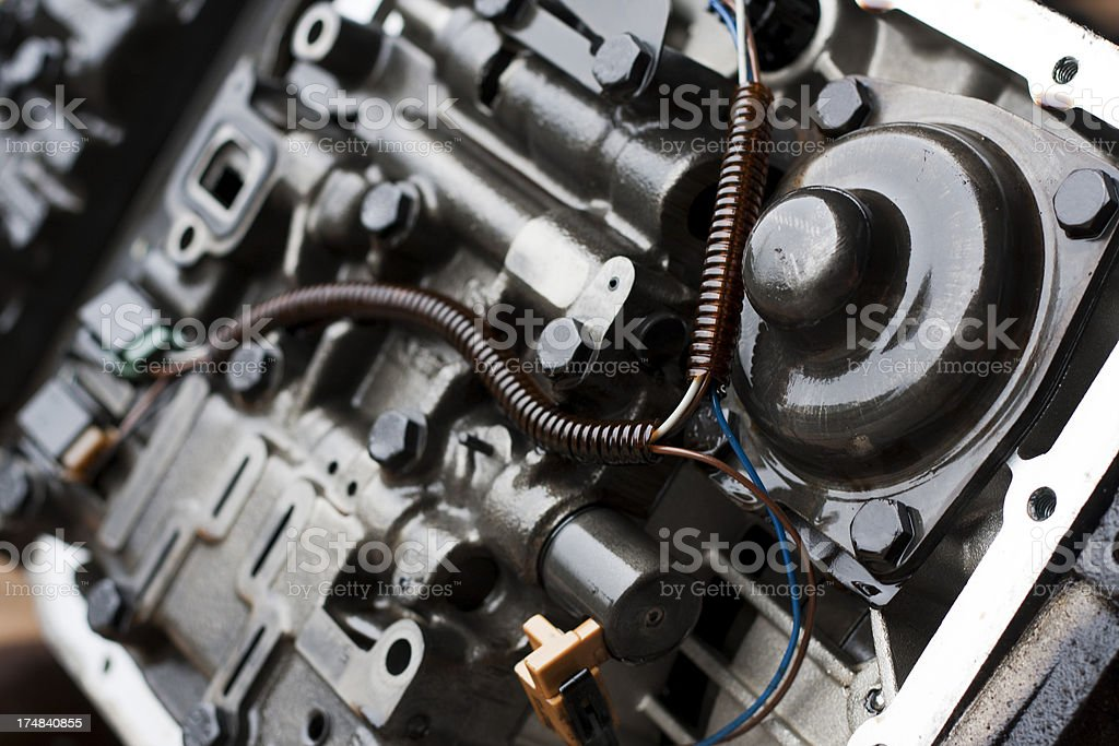 Automatic Transmission Interals royalty-free stock photo