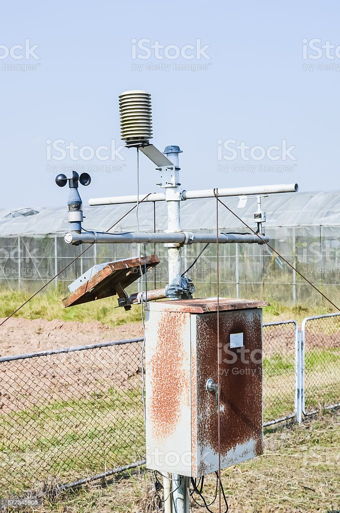 Automatic weather station - foto stock