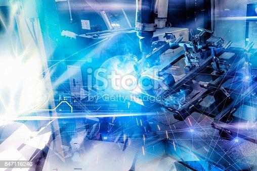 istock Automatic welding technology 847116246