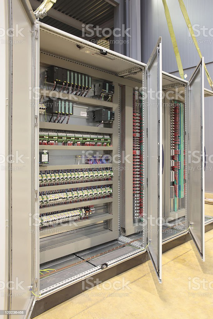 Automation atex panel board royalty-free stock photo