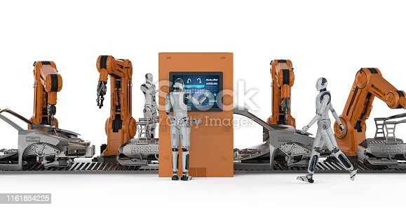 849023956 istock photo Automation aumobile factory concept 1161854225