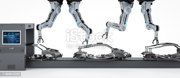 849023956 istock photo Automation aumobile factory concept 1164612252