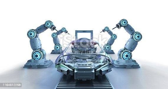 849023956 istock photo Automation aumobile factory concept 1164612258