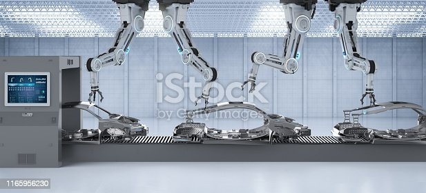849023956 istock photo Automation aumobile factory concept 1165956230