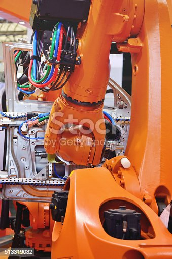 518201052istockphoto Automation Robotic Arm 513319032